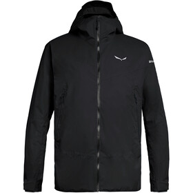 SALEWA Puez Clastic 2 Powertex 2 Lagen Jacke Herren black out